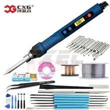 Бесплатная доставка CXG 110 В/220 В ЕС/США D60W/D90W/D110W с функцией сна паяльник ЖК цифровой с новой технологией нагрева