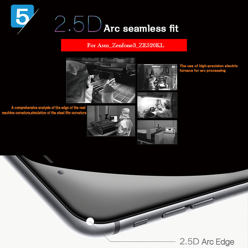 Clear Screen Protective Tempered Glass For Doogee V VE Screen Protector Film 4
