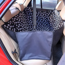 Pet carriers Dog Cat Car Rear Back Seat Carrier Cover Portable Pet Dog Mat Blanket Cover Mat Hammock Cushion Protector Carrier