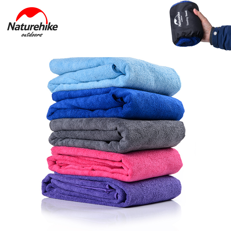 Naturehike Fast Drying Travel Towel Includes Carry Bag ...