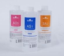 مجموعة أكوا تقشير الحل أصوات جميلة AS1 + SA2 + AO3 هيدرا جلدي 400 مللي/زجاجة