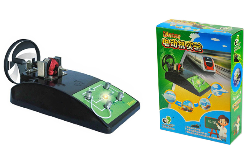 Free Ship 1x Teenage Children Kids Scientific Science Educational Models Experimental Toy Materials ELECTR.MOTO Experiment Toy