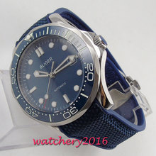 Bliger Brand Wristwatches 2019 Fashion New Arrival Date Casual Men Watches High Quality Blue Dial Automatic watch
