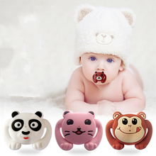 hot deal buy food grade silicone funny baby pacifiers dummy nipple teethers toddler pacy orthodontic soothers teat for baby pacifier gift 1pc