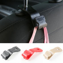 Red/ Black/ Brown Interior Car Seat Back Hook Cargo Hanger Bag Clip Holder Trim Decorative Car Styling Accessories For Jeep ABS(China)