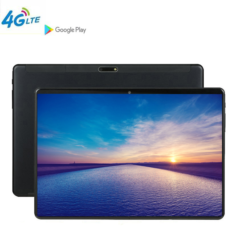 2019 CP9 Tablette 10.1 Tablet Screen Mutlti Touch Android 9.0 Octa Core Ram 6GB ROM 64GB Camera 5MP Wifi 10 Inch Tablet 4G FDD