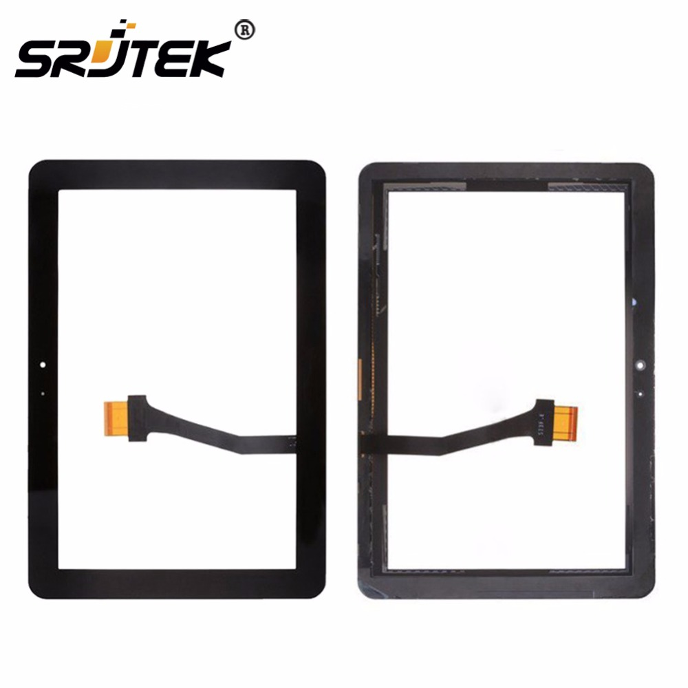 Srjtek Touch Screen Panel Glass TouchScreen Digitizer For Samsung GALAXY Tab2 Tab 2 P5100 P5110 P5113 N8000 Replacement Part srjtek 8 for samsung galaxy note 8 0 n5110 touch screen with digitizer panel front glass lens black white