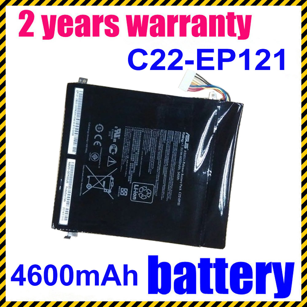 JIGU C22-EP121 Laptop Battery For ASUS Eee Pad B121 Tablet PC Series Slate EP121 B121-1A008F B121-1A001F B121-1A016F