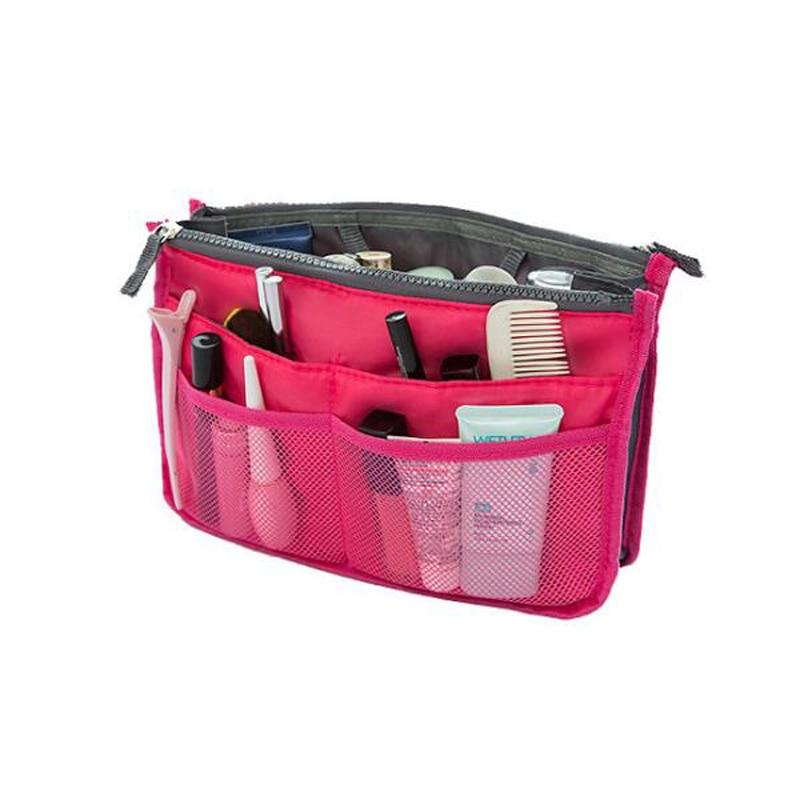 200pcs/lot Make Up Organizer Bag Women Men Casual Travel Bag Multi Functional Cosmetic Bags Storage Bag In Bang Makeup Handbag