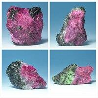 גבישי מינרלים טבעי אבן יקר חן אדום פנינה ירוקה חומרי גלם צמר אבן גילוף הוראה דגימות