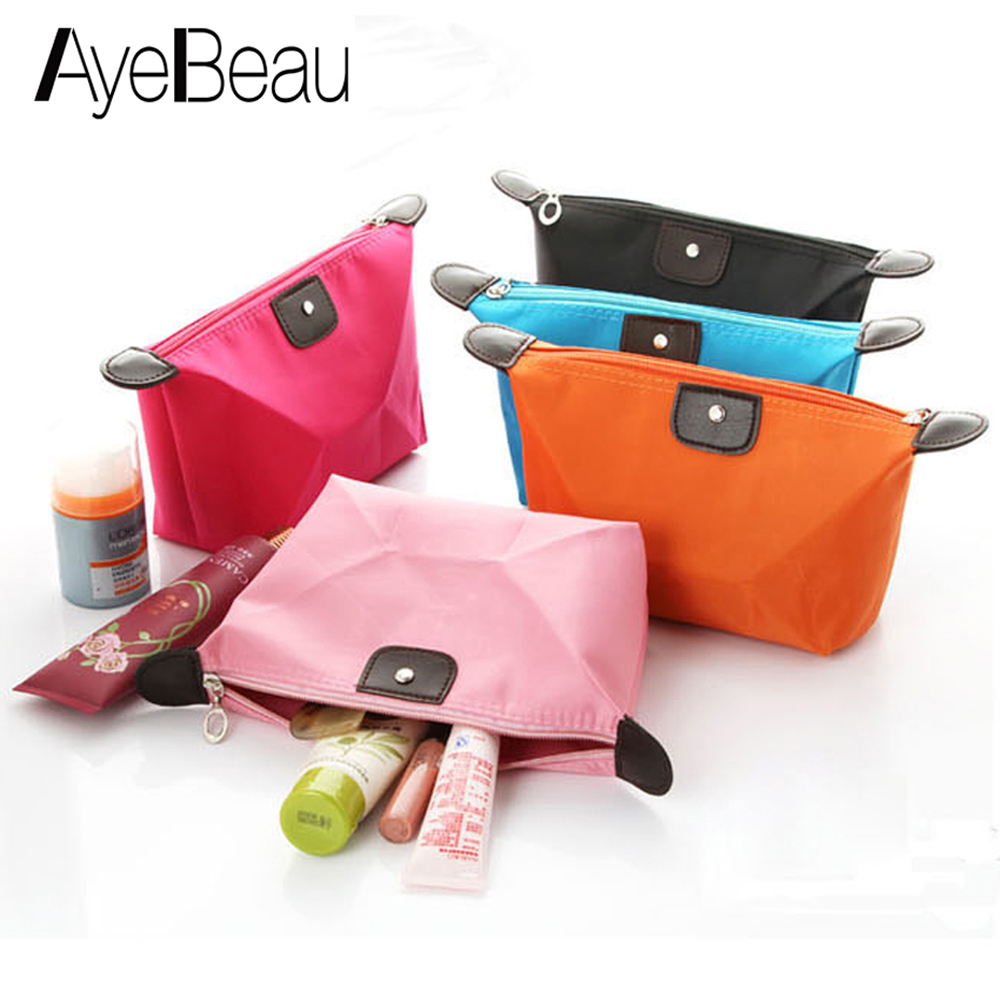 Female Purse Beautician Vanity Necessaire Wash Beauty Women Travel Toiletry Kit Make Up Makeup Case Cosmetic Bag Organizer Pouch lady s mini patent leather cosmetic bags make up tools organizer pouch wash toiletry vanity travel case accessories supplies
