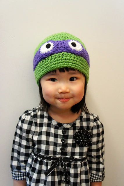 Online Shop Ninja Turtles Hat Baby Donatello Ninja Hat Tmnt