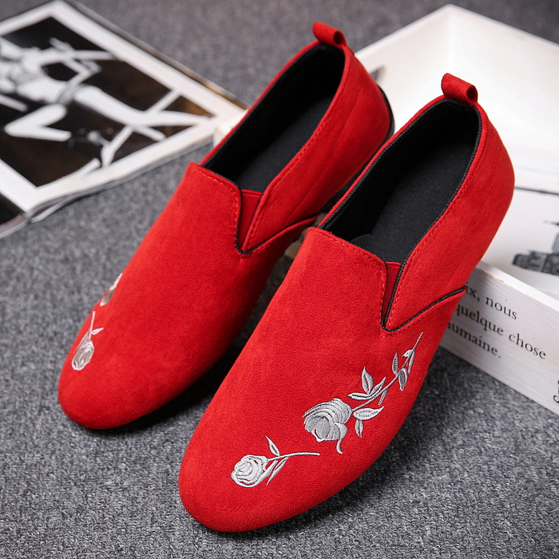 Shoes Men Loafers Black Fashion New Outdoor for Flats