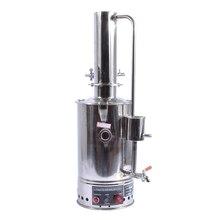 1 шт. YAZD-5 Электрический 5L дистиллятор 304 дистиллированный нержавеющая сталь воды оборудования с автоматическим отключением системы 220 В/110 В