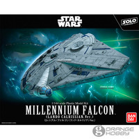 Bandai Star War Millennium Falcon LC Ver. Assembly plastic Model Kits