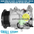 6SEU16 CAR AUTO AC COMPRESSOR FOR CAR TOYTOA HIACE CAR SERIES 4472600975 447260 0975 883102F030 12V 7PK / 7GR