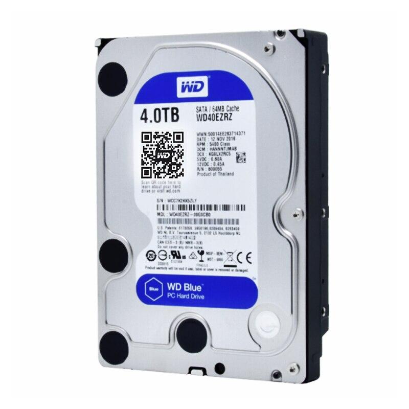 Western Digital WD Bleu WD40EZRZ 4 TB hdd SATA 3.5 pouce dur disque DISQUE DUR Interne de bureau SATA 6 GB/S 64 MB Cache Pour calculer