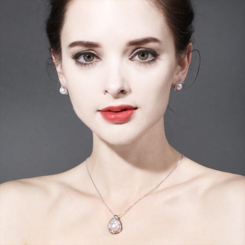 FENASY biser nakit, pravi prirodni biser privjesak ogrlica, - Fine nakit - Foto 5