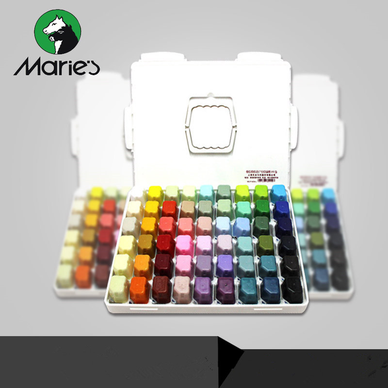 20/54 Colors 30ML Gouache Pigment / Portable Jelly Concentrated Water Powder Pigment Set