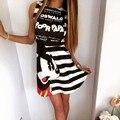 Mickey Impresso Feminino Moda Vestido Sem Mangas Fino Vestidos de Fitness a Ucrânia Da Praia do Verão Vestido Bonito Vestido De Festa Top Kawaii