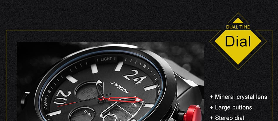 HTB1.L9QkY1YBuNjSszhq6AUsFXaB SINOBI 2020 Men Wrist Watches LED Chronograph