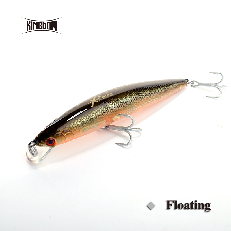 Kingdom 140mm 29g minnow hard plastic fishing lure sea for Fishing with minnows for bass