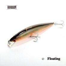 Kingdom 140mm 29g minnow hard plastic fishing lure sea bass model 5225