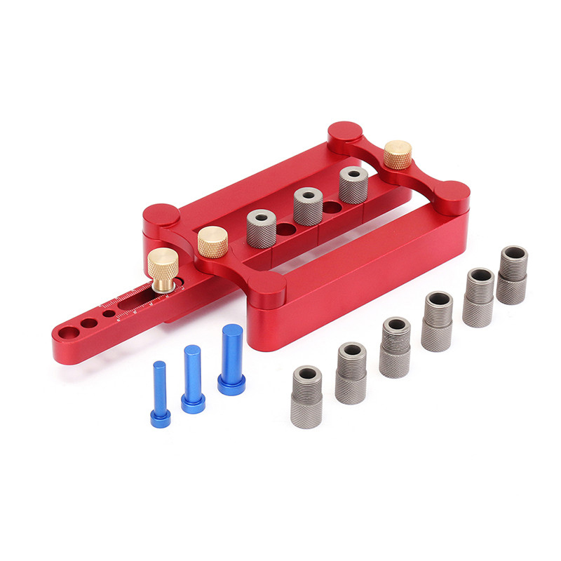 6 8 10mm Self Centering Dowelling Jig Dowel Puncher Drilling Tools Hole opener for g Woodworking