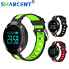 Smarcent T1 Bluetooth Heart Rate Smart Wristband With Blood Pressure Monitor Fitness Tracker Sports Band Relogio