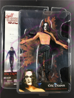 NECA Bruce Lee Son Brandon LeeLittle Early Production THE CROW Classic Character Joint Movable Action Figure Toy