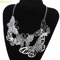 Diomedes Newest Gorgeous 1pcs New Necklace Women Butterfly Necklace Chain Jewelry Chains charm Jewelry Gift New #0117