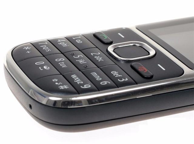 Original Nokia C2-01 Refurbished GSM/WCDMA 3G Unlocked Mobile Phone