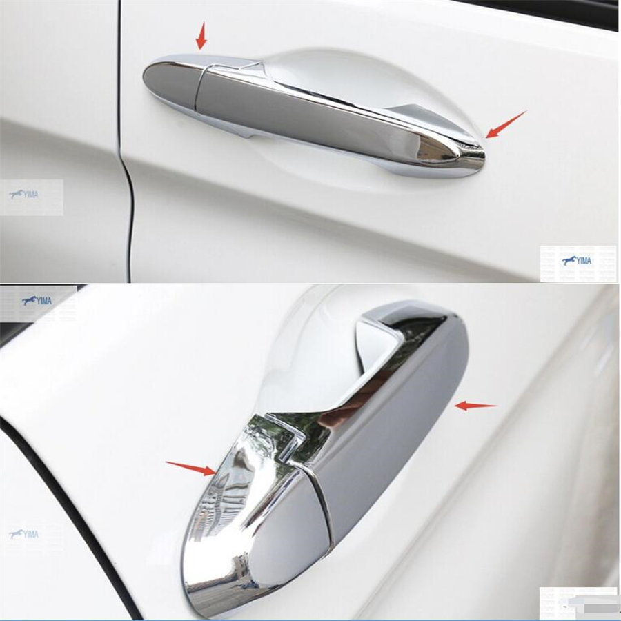 2 Model For Choice For Honda City Grace Sedan 2014 2015 2016 Strengthening Sinews And Bones Lapetus Car Styling Abs Side Car Door Pull Handle Cover Trim Exterior Accessories Automobiles & Motorcycles