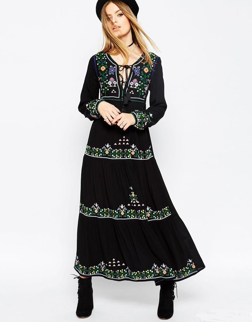 Online Buy Wholesale long sleeved maxi dresses uk from China long ...