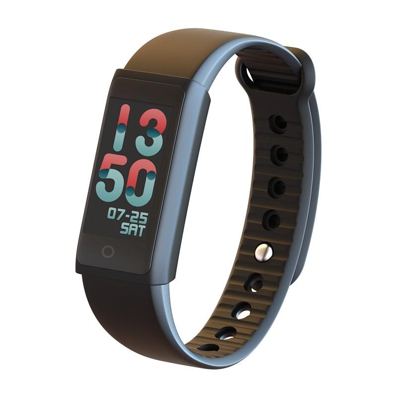 FORCA F600 Fitness Tracker Color LCD Activity Tracker Watch Sleep Heart Rate Monitor <font><b>Bluetooth</b></font> Smart Sport Bracelet
