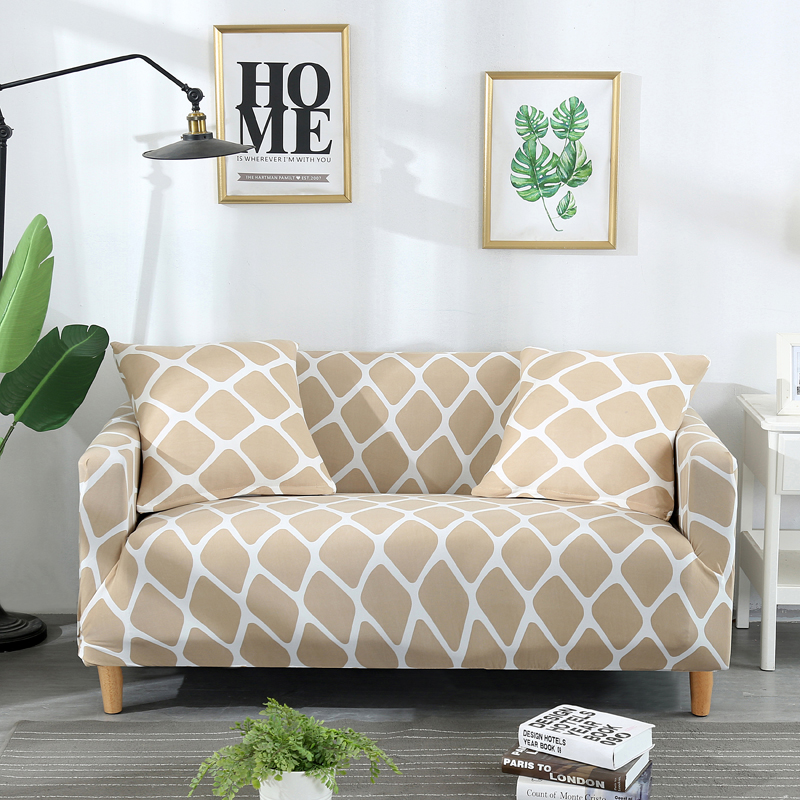 Astonishing Us 17 63 35 Off Fashion Printing Protective All Inclusive Spandex Elastic Slipcovers Corner Sofa Covers Sectional Sofa Cover Stretch Couch Cover In Pdpeps Interior Chair Design Pdpepsorg