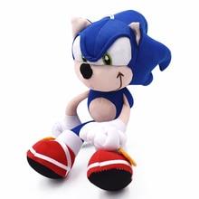 20 см плюшевый Соник игрушки куклы Sonic мультфильм Peluche мягкую игрушку Высокое качество Детские подарки на день рождения