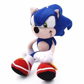 20cm Sonic Plush Toys Doll Sonic Cartoon Peluche Soft Stuffed Toy High Quality Baby Birthday Gifts