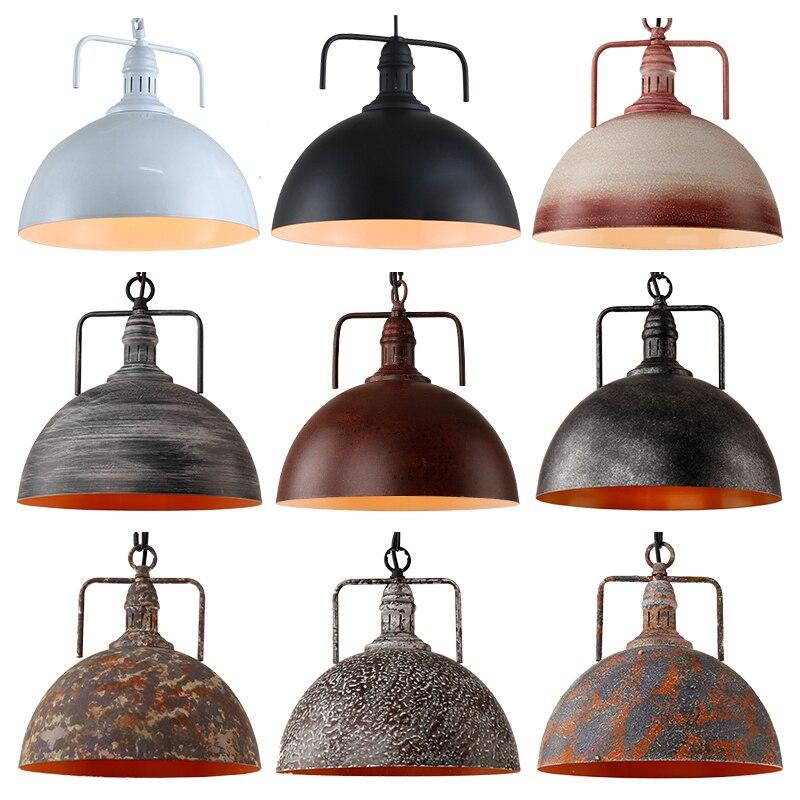 Industrial Coffee Table Lamp: Retro Industrial Pendant Light, Bar Table, Lid, Lamp