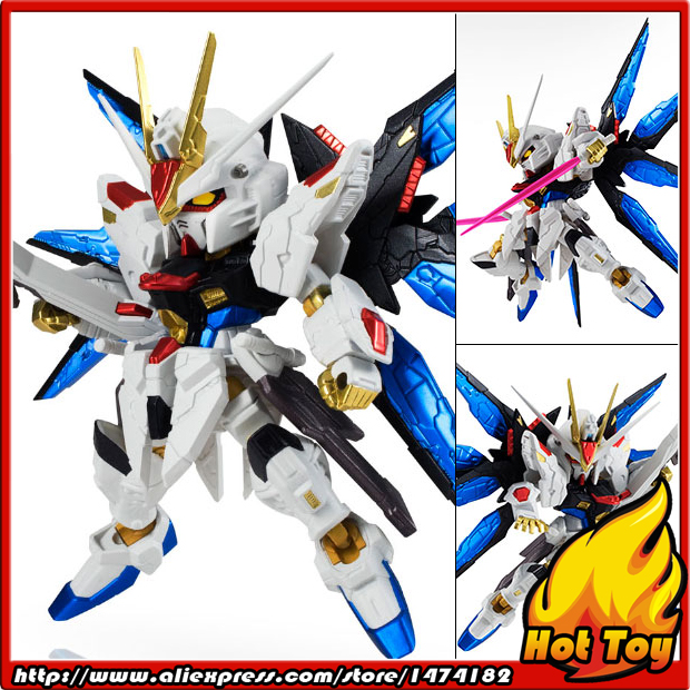 100 Original BANDAI NXEDGE STYLE Action Figure Strike Freedom Gundam RE COLOR Ver from Mobile Suit