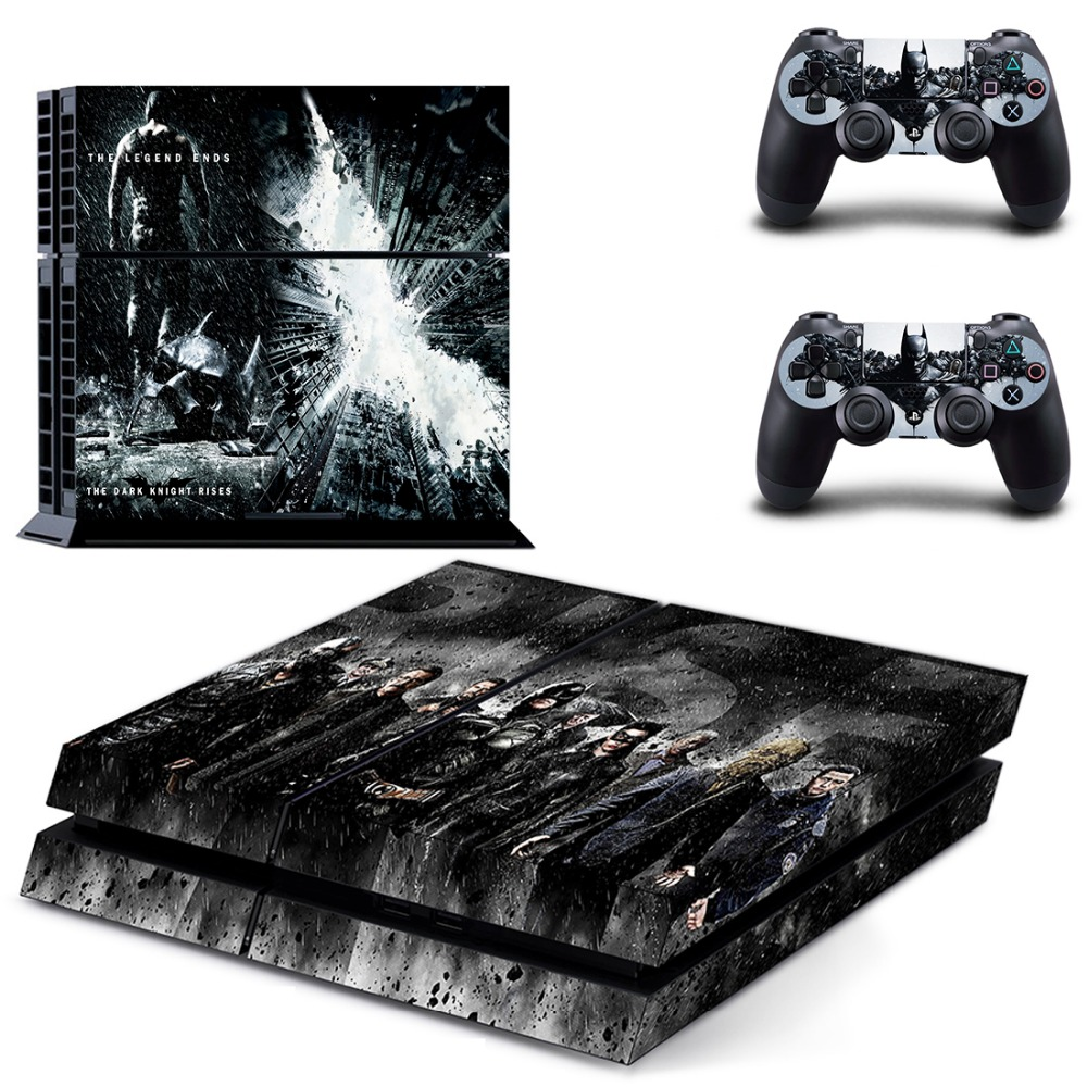 Superman VS Batman PS4 Skin Sticker for Sony Playstation 4 Console Vinyl Decals Skins for Dualshock 4 Controller