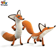 2016 The Little  Prince and the fox 45cm/60cm plush stuffed foxes doll toys kids baby boy girl gift free shipping