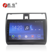 HANGXIAN 2 din Android 7.0 car dvd gps Multimedia 10.1 For suzuki swift 2005-2015 radio player navigation head unit WIFI BT