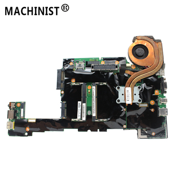 Original For Lenovo ThinkPad X230 X230I laptop motherboard I5-3320M CPU DDR3 FRU 04X1401 04X1402 with fan 100% fully Tested