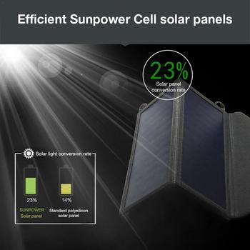 Portable 15W5V Output Folding Solar Bag Panel  3