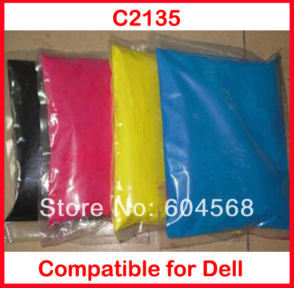 High quality color toner powder compatible Dell C2135 Free Shipping