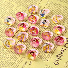 Free Shipping Wholesale lots 20Pcs Girl child's gifts lovely cute  Princess Heart rings fashion Jewelry Jewellery