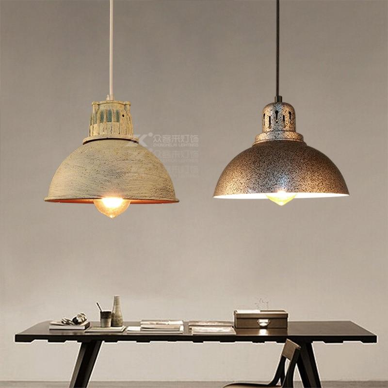 Vintage loft pendant light retro industrial pendant lamp for Artistic pendant lights