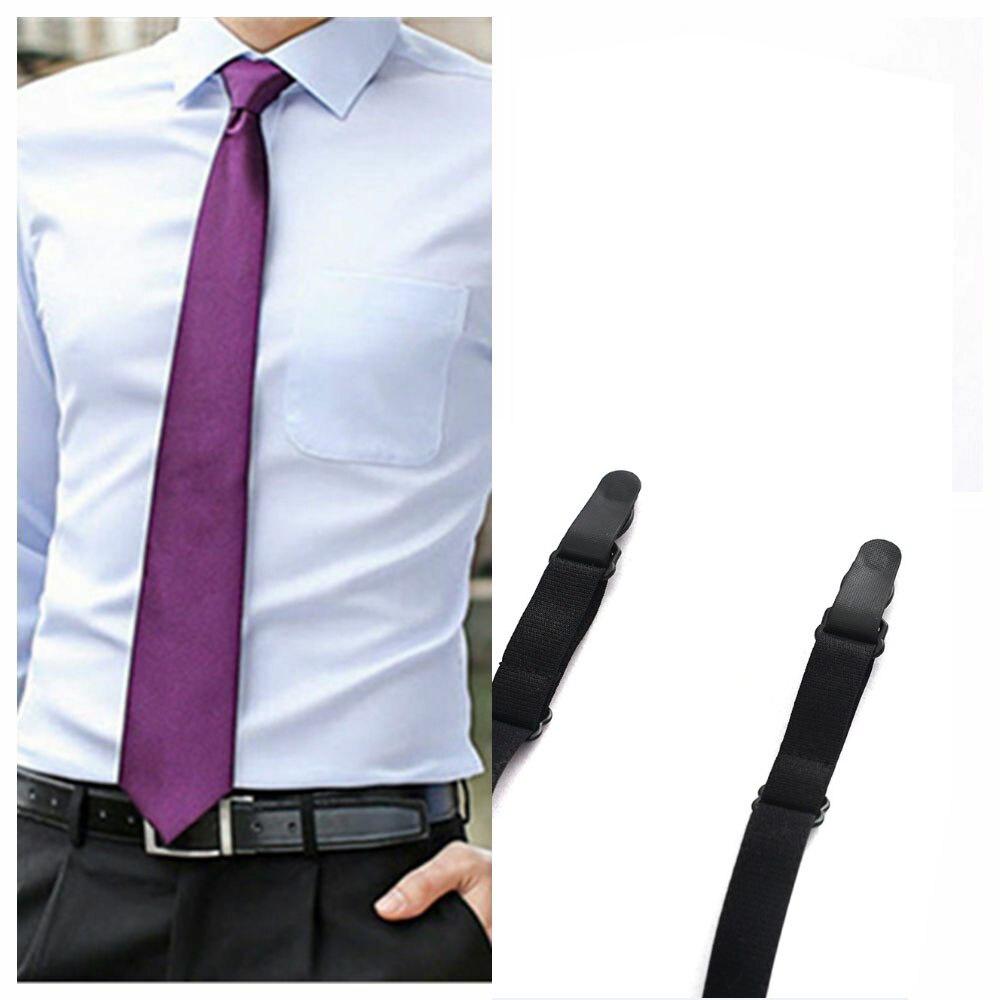 Nylon Stirrup Military  Men Shirt Stays Garters  Adjustable Elastic Shirt Holders Straps Sock Non-slip Clamps Leg Suspenders