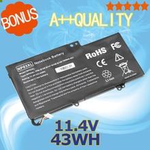 11.4v 43WH Laptop Battery for HP TPN-Q147 TPN-Q148 TPN-Q149